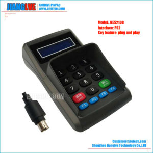 JLE521DB PS/2 plug and play pos keypad