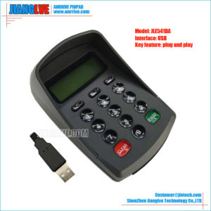 JLE541DA USB plug and play pos pinpad