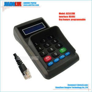 JLE552DB RS485 programmable pos keyboard